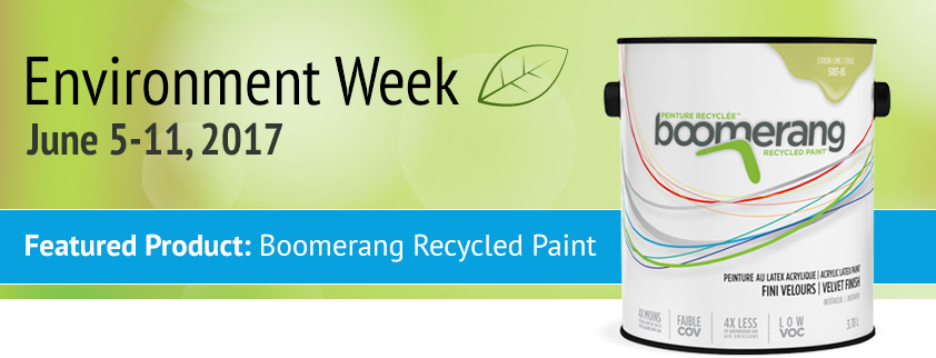 Environment Week 2017 Featured Product